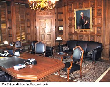 The Prime Minister's office - Le bureau du premier ministre, 10/2008