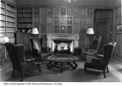 Office of the Speaker of the House of Commons - Bureau du Président de la Chambre des communes, 1995