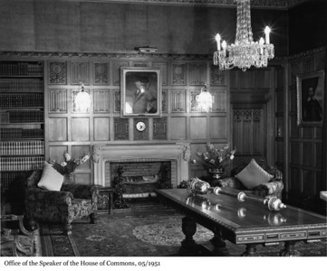 Office of the Speaker of the House of Commons - Bureau du Président de la Chambre des communes, 05/1951