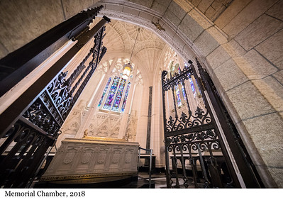 Memorial Chamber - Chapelle du Souvenir, 2018