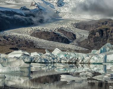 Judith Bain presents Glacier, Iceland
