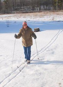 Cross country skiing in Centre Hastings