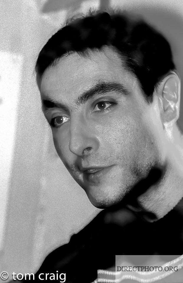 Portrait, ex-President of the Centre LGBT-Paris, IDF, Christophe Henneguin, 1998