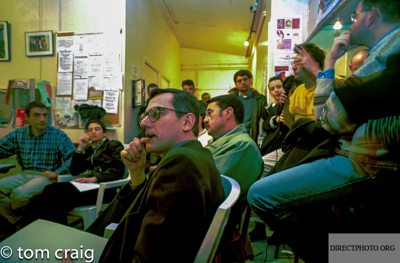 Centre LGBT-Paris IDF, Reunion Mariage Gay, (C.U.S., Contrat Union Social- PACS,), avec Jean-Pierre Pouliquen Mars, 1998