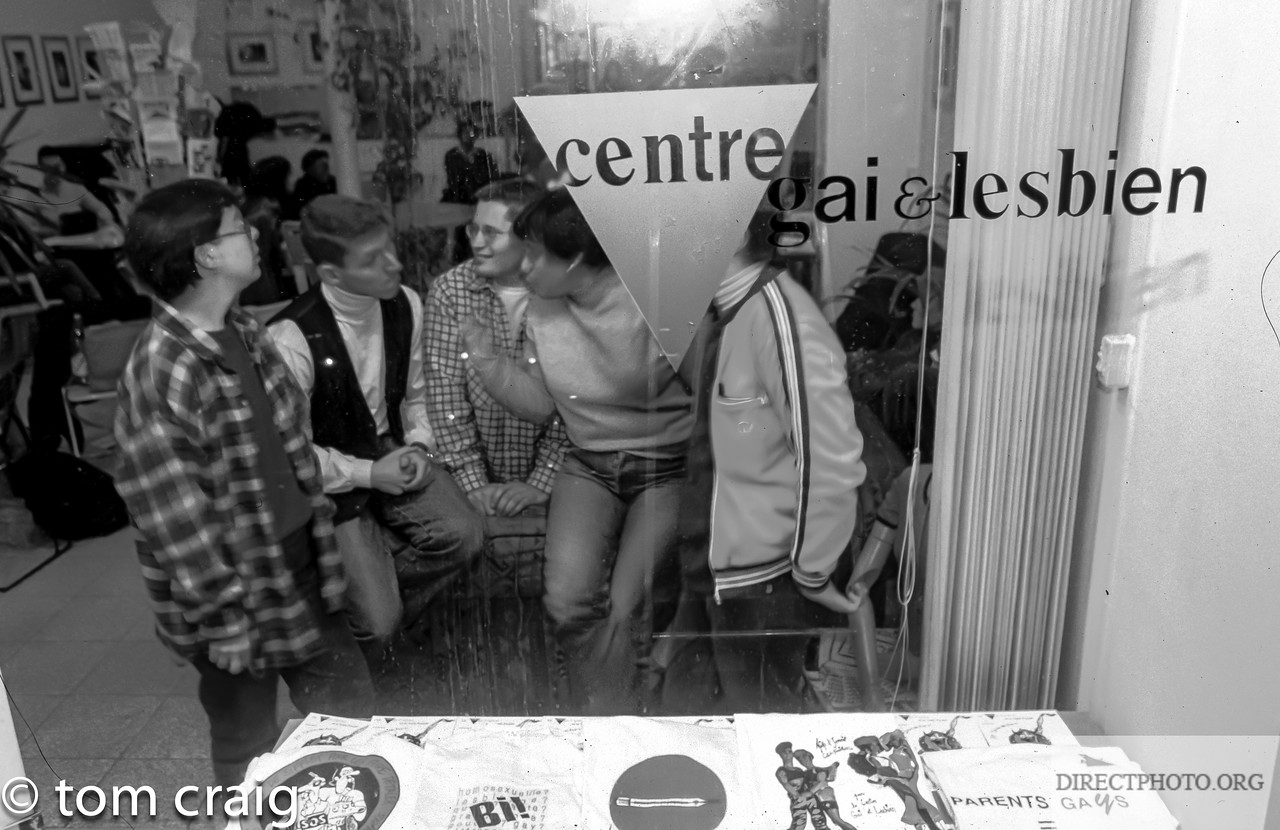 Paris, France, Vintage Photos, Paris Centre LGBT,