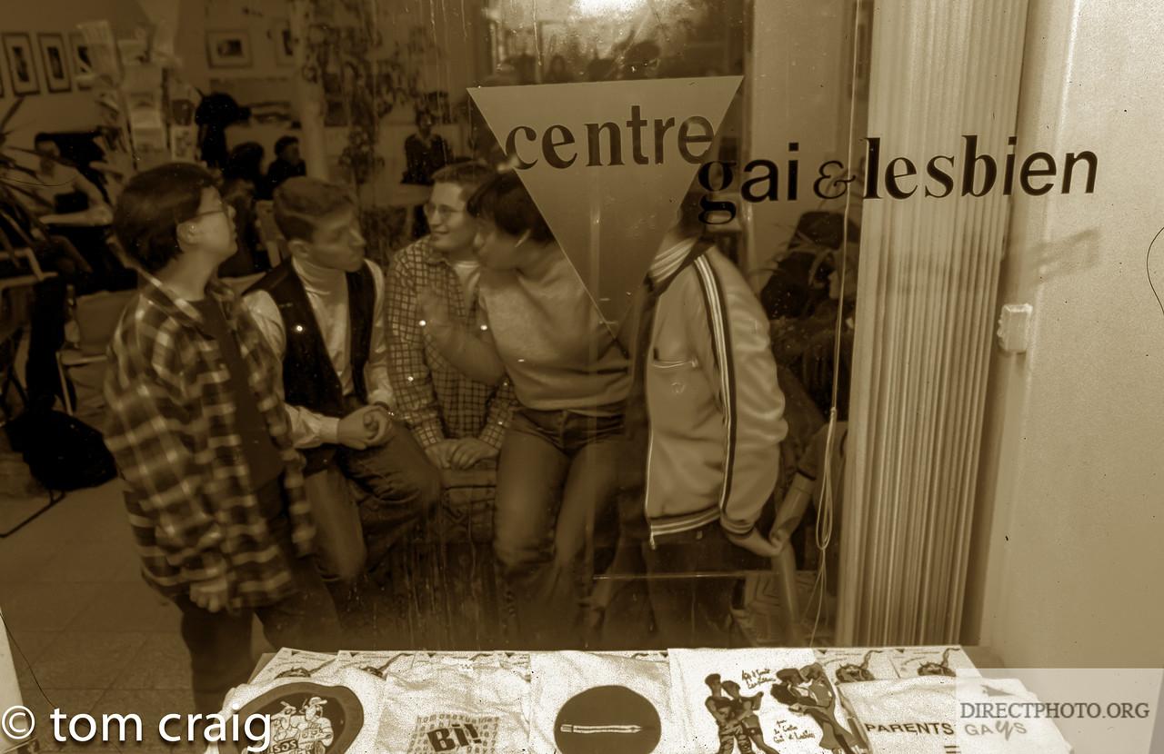 Centre LGBT, IDF, Paris, Rue Keller, Fenetre