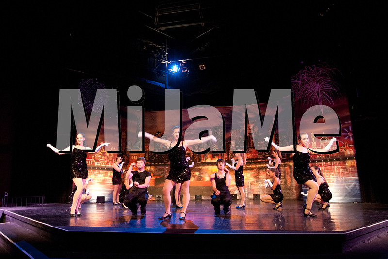 "Los Olivos Dance Gallery ""A Night in Manhattan - New York, New York"" Friday production at the Festival Theater in Solvang, California, on May 18, 2012."