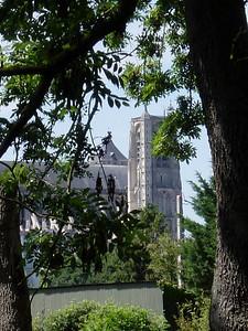 Bourges Cathedrale Vue des Marais 07 C-Mouton