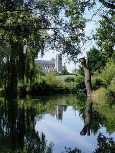 Bourges Cathedrale Vue des Marais 06 C-Mouton