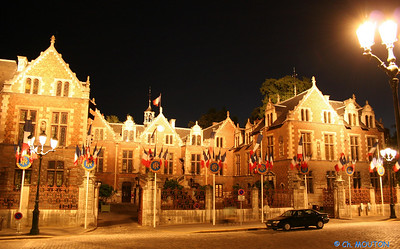 Hotel Groslot by night 4 C-Mouton
