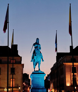 Orléans, Jeanne d'Arc, statue