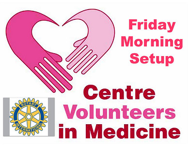 Centre Volunteers in Medicine Thanks For Giving Dinner