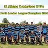 St Albans Centurions U13's - North London league Champions 2015
