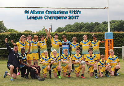Winning The League - Cents U13's -v- Elmbridge Eagles U13's (July  2017)