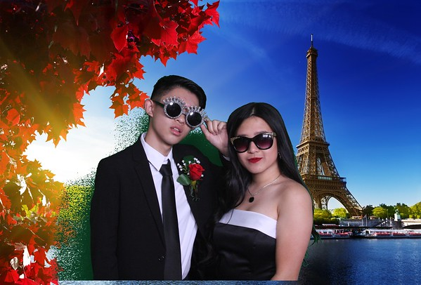 Century High School Prom Photo Booth