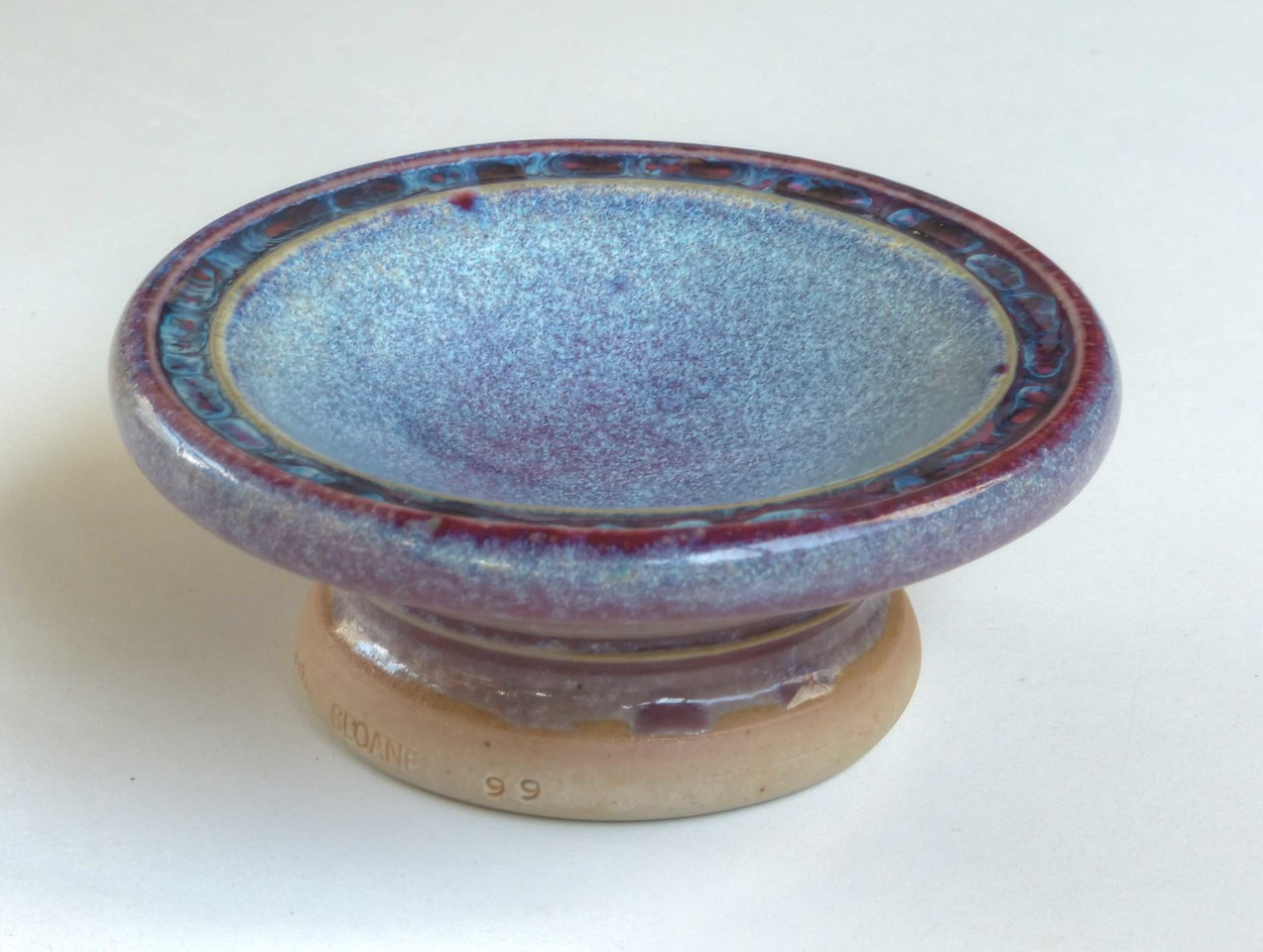 sauce dish - 4 & one half inches wide - copper in reduction