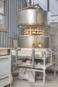 my kiln - gas fired alumino-silicate fibre insulated forced air updraught