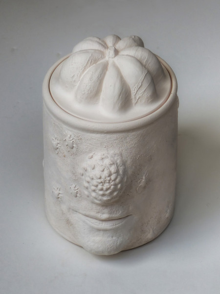 JAR - bisqueware (unglazed)