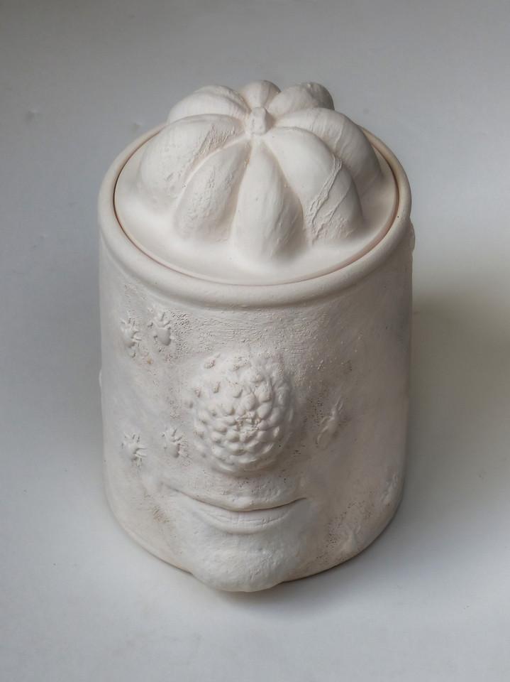 JAR - bisqueware (unglazed)