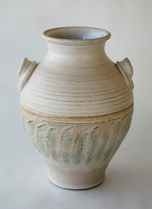 "vase - electric fired, cone 6, size: 11"" x 7"" x 7"""