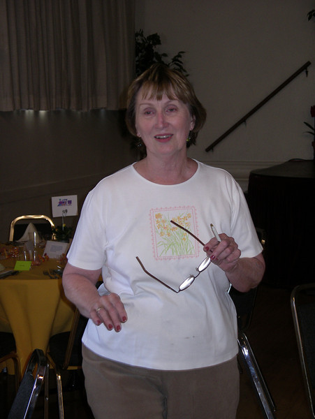 Joan Hanna organized the event.