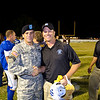 28 OCT 2010 - The 3rd Heavy Brigade Combat Team won the Doughboy Bowl football game 29-13 against the Columbus State Cougars.  The game was held at Doughboy Stadium as part of Soldier and Family Appreciation Day; MCoE, Fort Benning, GA.  Photo by John D. Helms - john.d.helms@us.army.mil