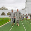 9 MAR 2012 (FORT BENNING, GA) - U.S. Army Chief of Staff GEN Raymond T. Odierno visits Fort Benning, GA to attend the 2012 West Point Football Spring Scrimmage game at Doughboy Stadium with MG Robert Brown.  Photo by Gil Strickland.