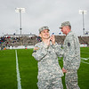 9 MAR 2012 (FORT BENNING, GA) - U.S. Army Chief of Staff GEN Raymond T. Odierno visits Fort Benning, GA to attend the 2012 West Point Football Spring Scrimmage game at Doughboy Stadium with MG Robert Brown.  Photo by Kristian Ogden.