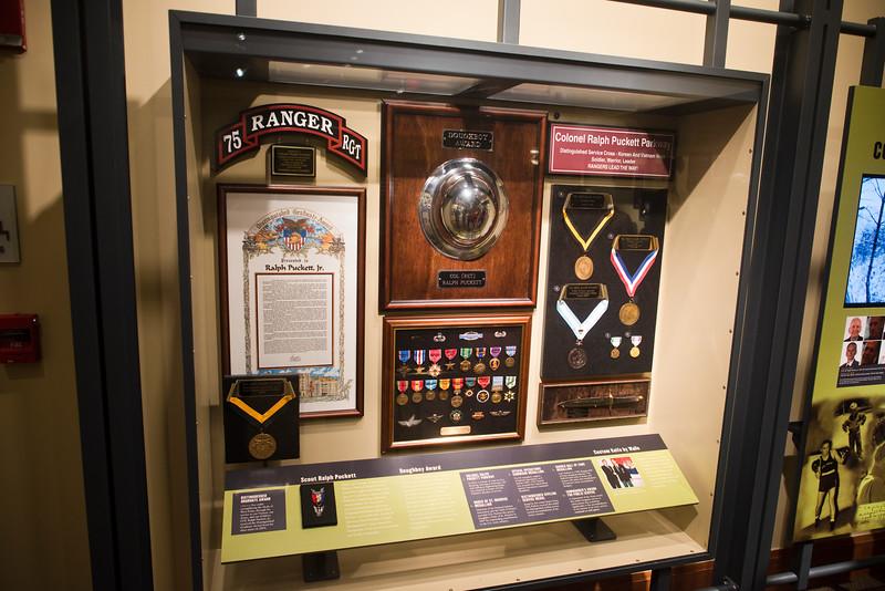 Exhibit Dedication honoring Col. ( R ) Ralph Puckett Jr