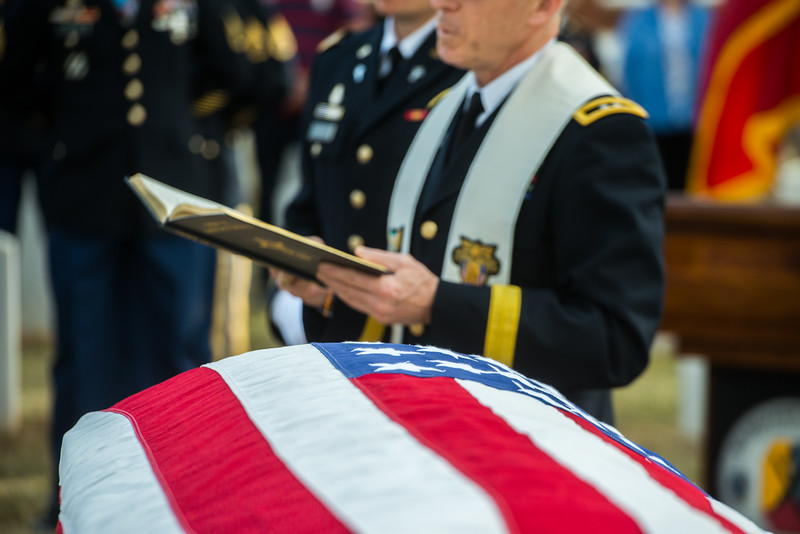 "Graveside Service for Retired Army Lt. Gen. Harold Gregory ""Hal"" Moore Jr."