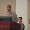Army Birthday Cake Cutting ceremony