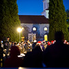07 DEC 2010 - Christmas Tree and Menorah lighting, Field of the Four Chaplains, MCoE, Fort Benning, GA.  Photo by Stephanie Owens.