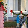 09 DEC 2010 - Santa at Riverside with MCoE Commanding General MG Brown.  Photo by John D. Helms - john.d.helms@us.army.mil