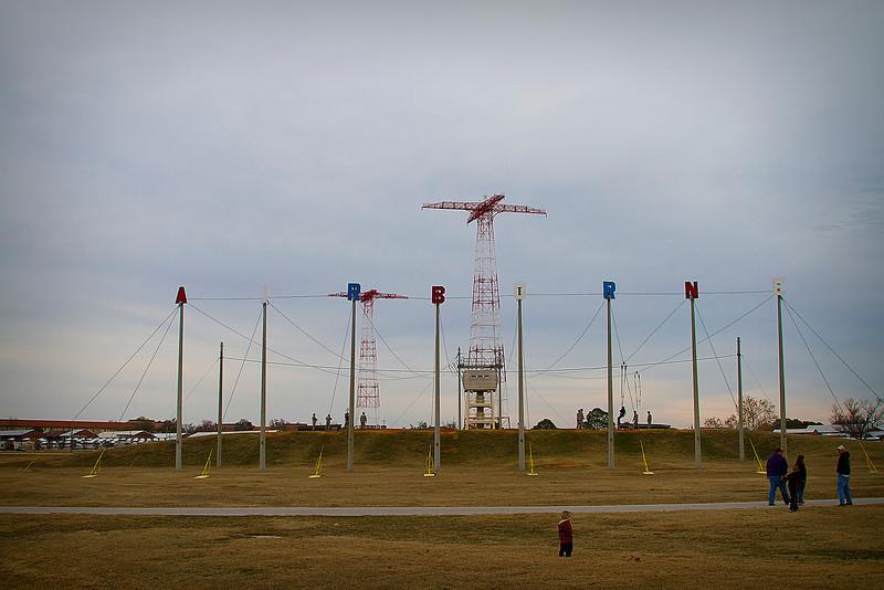 9 DEC 2011 - MCoE Holiday Tower Lighting Ceremony, Eubanks Field, Fort Benning, GA. Photo by Ed Barker - geb890@yahoo.com