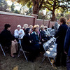 (FORT BENNING, Ga.) Fort Benning Soldiers and civilians observe the German-Italian Memorial Day Ceremony, November 28, 2012 at the Fort Benning Cemetery. The observance honored 44 German and seven Italian World War II soldiers who were buried in the post cemetery. These soldiers were incarcerated here as prisoners of war during World War II between 1943 and 1946. (Photo by Ashley Cross/MCoE PAO Photographer)