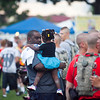 (FORT BENNING, Ga) Soldiers, family and friends enjoy games, food, music and fireworks at the Annual Independence Day Celebration, June 29, 2013 at York Field.  (Photo by Patrick Albright/MCoE PAO Photographer)