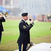 (FORT BENNING, Ga) A ceremony in honor of Veterans Day is held during the 2nd Battalion, 47th Infantry Regiment (Delta Company) Basic Combat Training Graduation Ceremony. (Photos by: Patrick A. Albright/MCoE Photographer)