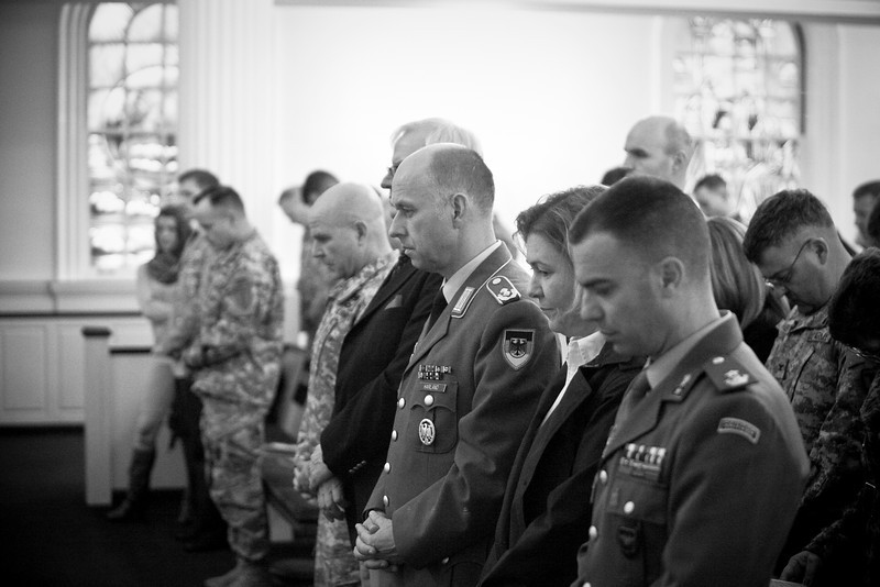 (FORT BENNING, Ga) Soldiers and their families and friends celebrate German and Italian Memorial Day, November 26, 2013.  (Photos by: Patrick A. Albright/MCoE Photographer)