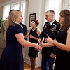 (FORT BENNING, Ga) Maj. Gen. H. R. McMaster, and his wife Katie, host a Holiday Reception, Dec. 15, 2013 at Riverside. (Photo by Ashley Cross/MCoE PAO Photographer)