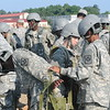 (FORT BENNING, Ga) Students from the Muscogee County School System Junior Reserve Officer Training Corps (JROTC) participate in summer training camp. June 3, 2015.