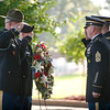 (FORT BENNING, Ga.) Soldiers and civilians gather for the Memorial Day Ceremony May 30, 2016 at the Fort Benning Cemetery.