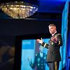 Gen. David Perkins speaks at the Jim Blanchard Leadership Forum.