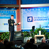 Gen. David Perkins speaks at the Jim Blanchard Leadership Forum.