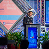 Maj. Gen. Eric J. Wesley speaks at the Jim Blanchard Leadership Forum