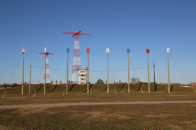 MCoE Tower Lighting Ceremony