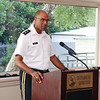 MG Brito speaks at the Zell Miller Institute Summit