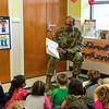 Maj. Gen. Gary M. Brito reads to Sante Fe CDC