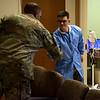 MCoE CG visits Sullivan Memorial Blood Center
