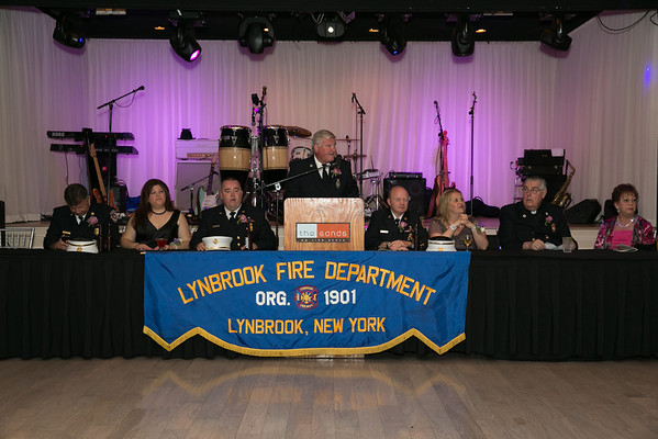 Lynbrook Fire Chief Instillation Dinner