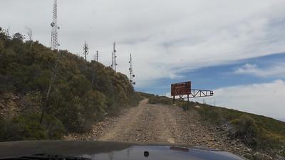 Road to radio site